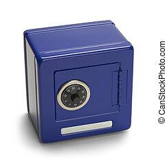 Blue Metal Safe