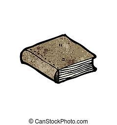 closed book cartoon