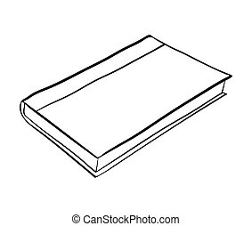 Closed book Vector Clipart Royalty Free  5,839 Closed book