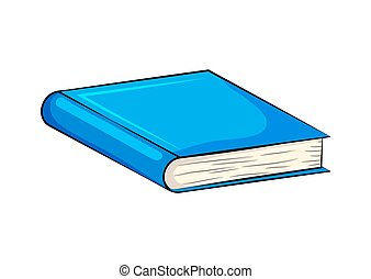closed book cartoon vector - Search Clip Art, Illustration ...
