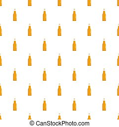 Closed bottle pattern seamless