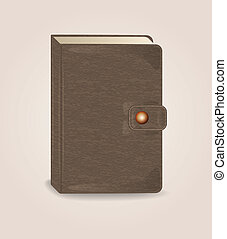 book with clip