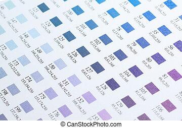 Color charts