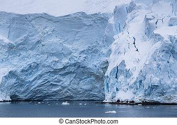 ice glaciers in antarctic