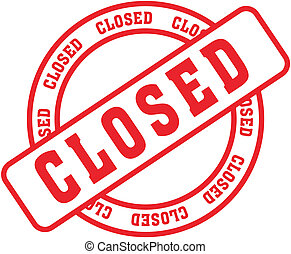 closed in vector format