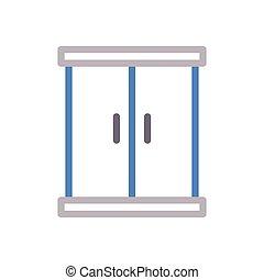 closet  color line icon
