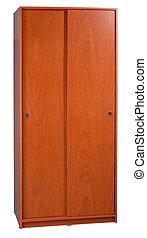 Closet - Isolated cabinet on white