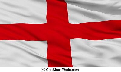 Closeup Alessandria city flag, Italy - Alessandria closeup...
