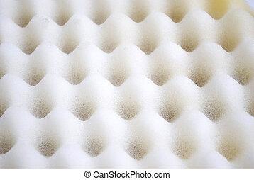 acoustic foam wall - Closeup background of acoustic foam...