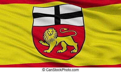 Closeup Bonn city flag, Germany - Bonn closeup flag, city of...