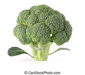closeup, brócolos