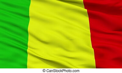 Closeup Chateauroux city flag, France - Chateauroux closeup...