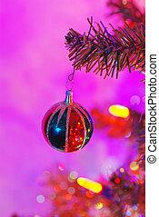 Christmas decoration on a tree