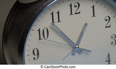 Closeup clock face