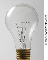 closeup, de, ampoule