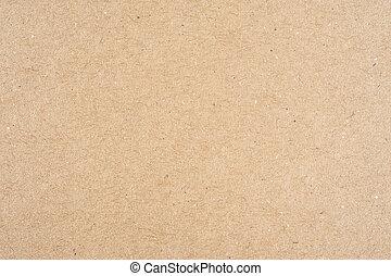 cardboard - closeup detail of brown cardboard paper