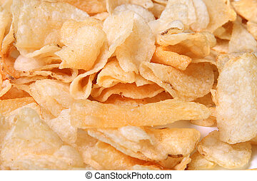 closeup, di, bollitore, patatine fritte