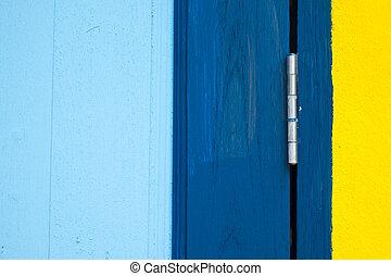 closeup, di, dettaglio, legno, finestra