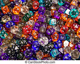 closeup, dices