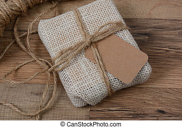 Closeup Fabric Present