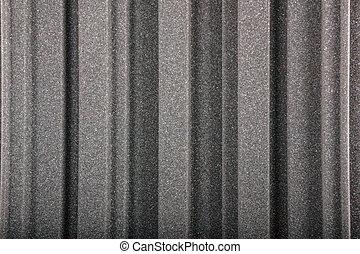 closeup, fundo, de, acústico, espuma, parede