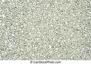 gravel background - closeup gravel background