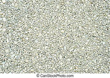 gravel background - closeup gravel background
