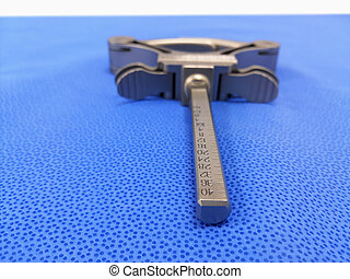 Surgical Angle Clamp Using For Total Knee Replacement Surgery