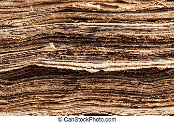 closeup, képben látható, öreg, könyv