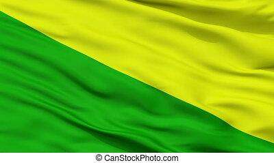 Closeup Las Marias city flag, Puerto Rico - Las Marias ...