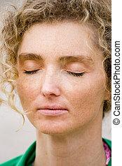 Closeup Meditation