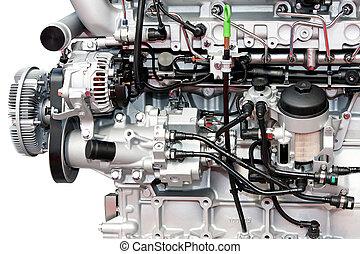 closeup, motor