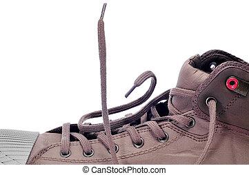 casual sneaker boot
