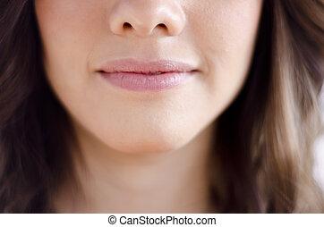 Closeup of a mouth