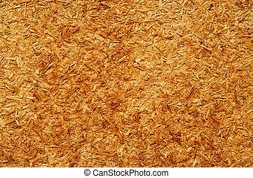 closeup of a particle board