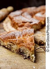 ensaimada, a pastry typical of Mallorca, Spain