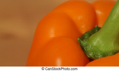 Closeup of a sweet pepper