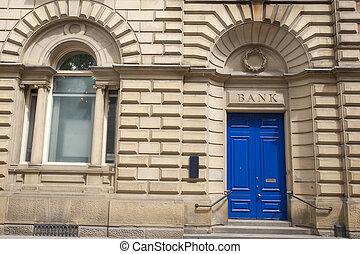 Bank Branch Entrance