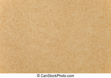 Closeup of Brown paper cardboard texture background