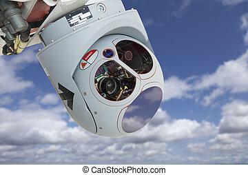 Closeup of Drone Camera and Sensor Pod Module