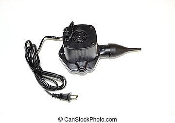 closeup of electrical equipment