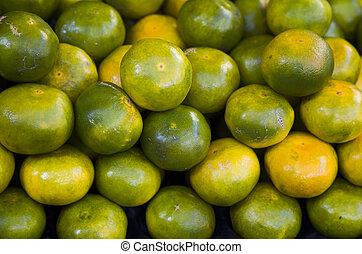 Closeup of Fresh Limes, Fruit