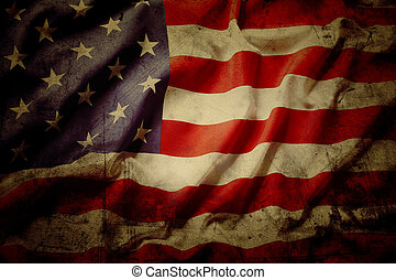 American Flag Vintage Textured Background Images And Stock