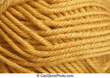 Closeup of hank wool, for backgrounds or textures