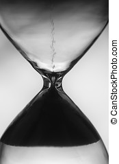 hourglass clock background