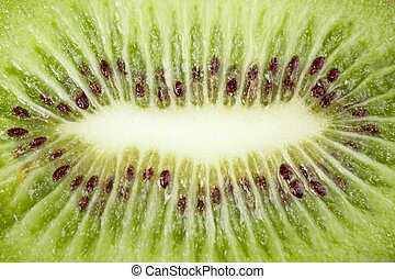 closeup of kiwi as a background