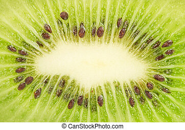 closeup of kiwi