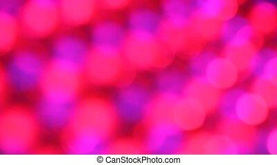 Closeup of LED