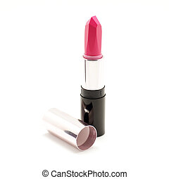 lipstick isolated on white background