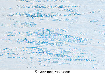 closeup of old blue and white wood background